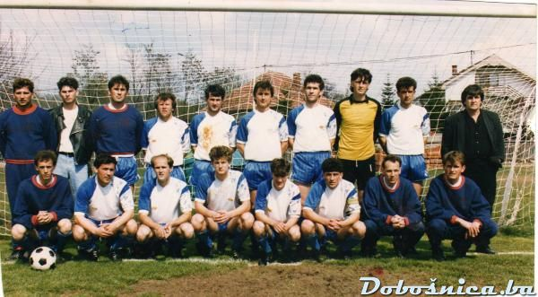 FK Zeljeznicar (pred utakmicu u Simin Hanu, maj 1991)