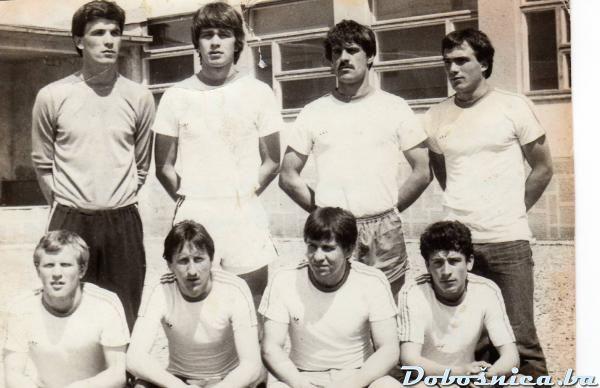 Malonogometna ekipa Zelje, maj 1981