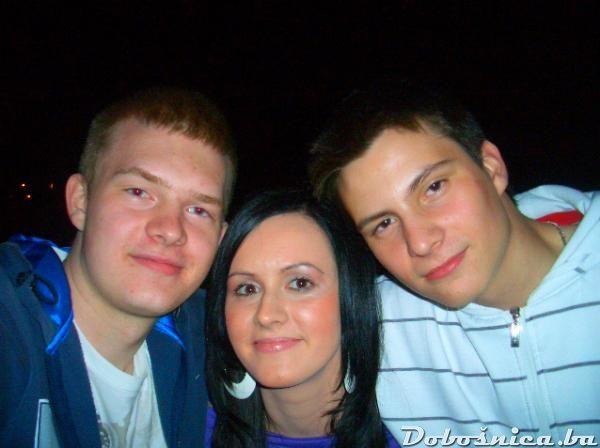 Elvira,Denis i Armin
