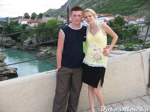 Armin (Arko), Selmira (zena) u Mostaru