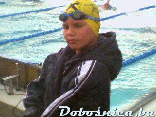 Hankic Lejla (cerka od Dire) na plivanju