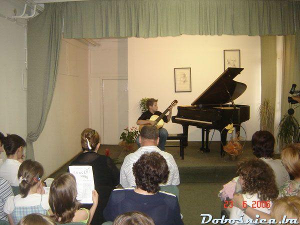 Edin Hasanovic, koncert muz. skole u Tuzli
